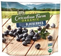 Cascadian Farm Organic Wild Blueberries Frozen Fruit