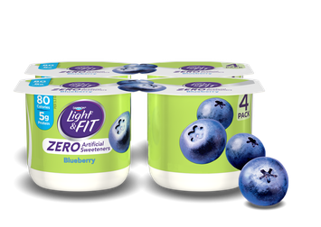 Light & Fit® Blueberry Nonfat Yogurt With Zero Artificial Sweeteners
