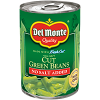Del Monte® Blue Lake Cut Green Beans - No Salt Added