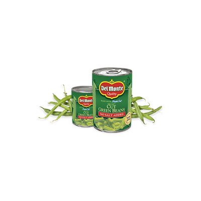 Del Monte® Blue Lake® Cut Green Beans - No Salt Added