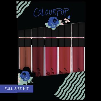 ColourPop Blues Baby Ultra Matte Lip Holiday Set