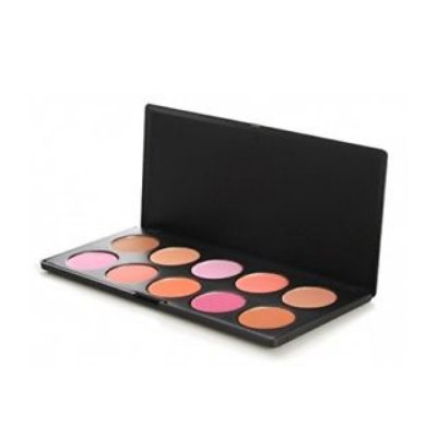 BH Cosmetics 10 Color Professional Blush Palette