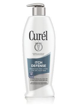 Curél® ITCH DEFENSE® FRAGRANCE FREE LOTION FOR DRY ITCHY SKIN