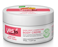 Yes To Grapefruit Dark Spot Correcting Body Crème