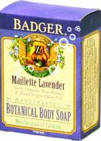 Badger Balm Botanical Body Soap - Maillette Lavender