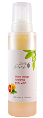 100% Pure Blood Orange Body Wash
