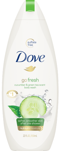 Go Fresh Cool Moisture Body Wash