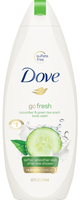 Go Fresh Cool Moisture Cucumber & Green Tea Body Wash