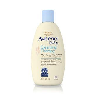 Aveeno® Baby Cleansing Therapy Moisturizing Wash