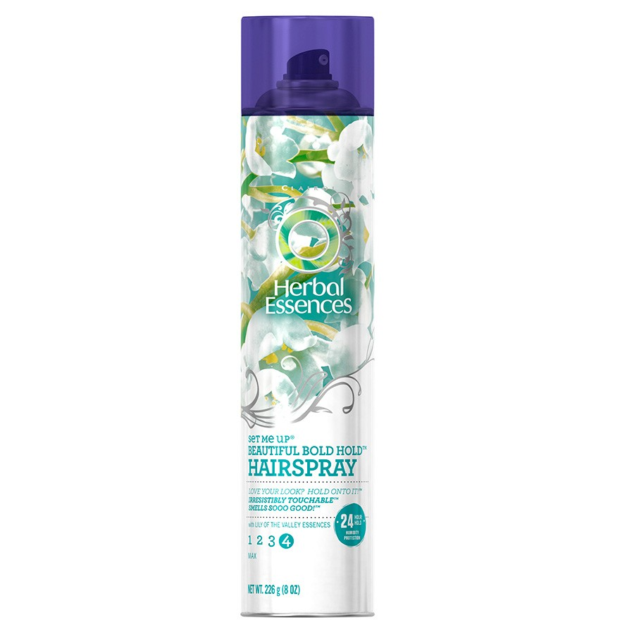 Herbal Essences Set Me Up Beautiful Bold Hold Hairspray