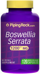 Piping Rock Boswellia Serrata 1200mg 120 Capsules