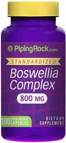 Piping Rock Boswellia Serrata 800mg Extract 100 Capsules