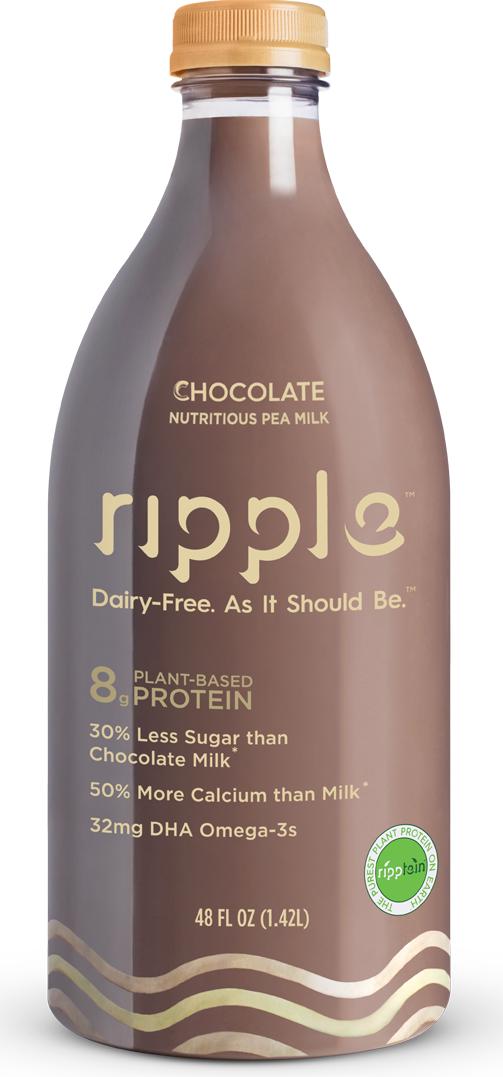 Ripple Chocolate Nutritious Pea Milk