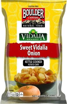Boulder Canyon Kettle Cooked Potato Chips Sweet Vidalia Onion