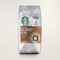 STARBUCKS® Breakfast Blend Bright & Tangy Whole Bean