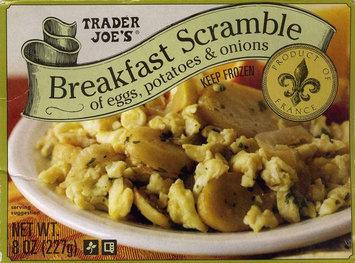 Trader Joe's Breakfast Scramble of Eggs, Potatoes & Onions