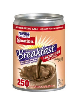 Nestlé® Carnation® Lactose Free Chocolate Splash Instant Breakfast