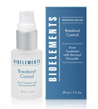 Bioelements - Breakout Control - 5% Benzoyl Peroxide Acne Treatment (For Very Oily, OIly, Combination, Acne Skin Types) 29ml/1oz