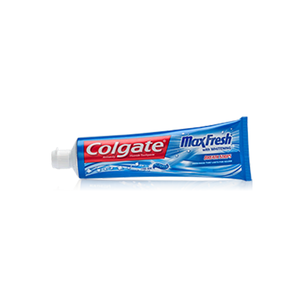 Colgate® MaxFresh® with WHITENING MINI BREATH STRIPS Toothpaste Cool Mint