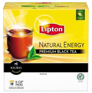 Lipton® Keurig Brewed Natural Energy Premium Black Tea