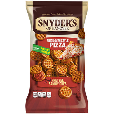 Synder's Of Hanover Brick Oven Style Pizza Pretzel Sandwiches