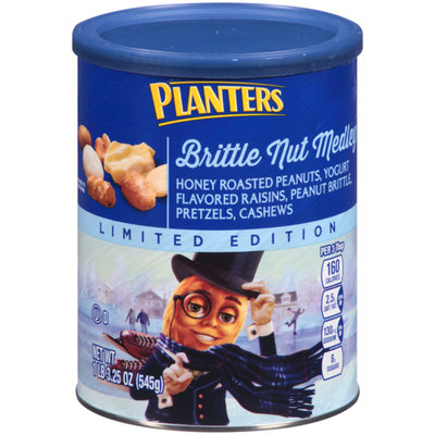 Planters Brittle Nut Medley Can