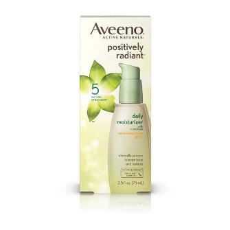Aveeno® Positively Radiant Daily Moisturizer Broad Spectrum Spf 30
