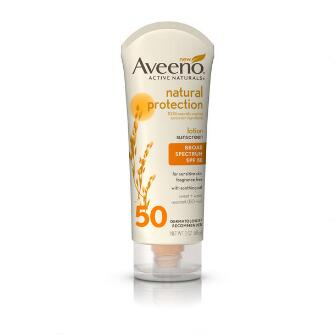 Aveeno® Natural Protection Lotion Sunscreen With Broad Spectrum Spf 50