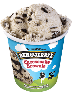 Ben & Jerry's® Cheesecake Brownie Ice Cream