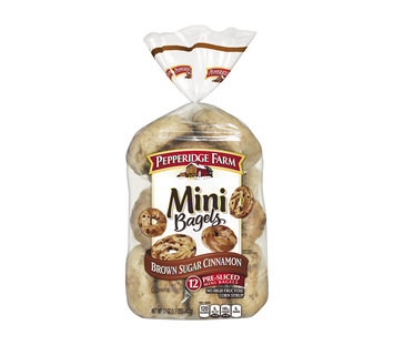 Pepperidge Farm® Mini Bagels Brown Sugar Cinnamon