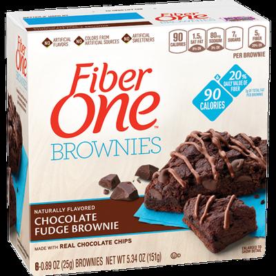 Fiber One 90 Calorie Chocolate Fudge Brownie