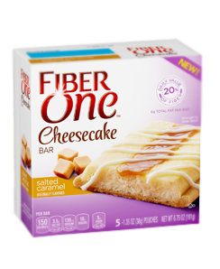 Fiber One Cheesecake Bar Salted Caramel