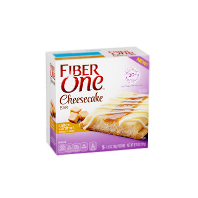 Fiber One Cheesecake Bar Salted Caramel