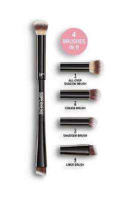 IT Cosmetics® Superhero™ 4-in-1 Eye-Transforming Super Shadow and Liner Brush
