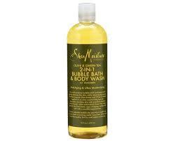 SheaMoisture Olive & Green Tea 2-in-1 Bubble Bath & Body Wash