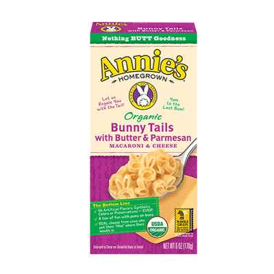 Annie's® Homegrown Bunny Tails with Butter & Parmesan Macaroni & Cheese