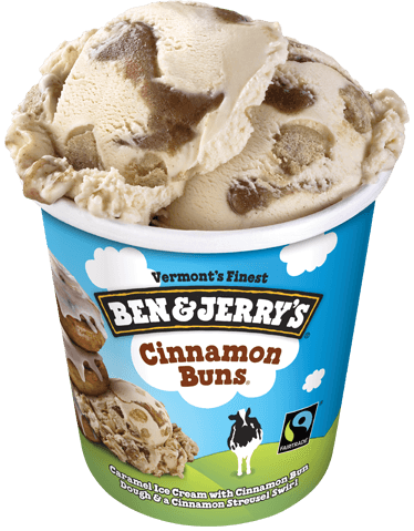 Ben & Jerry's® Cinnamon Buns Ice Cream