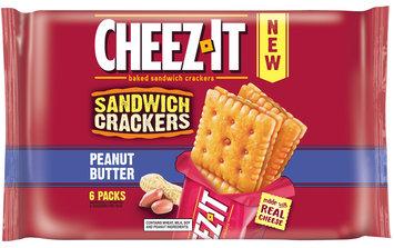 Cheez-It® Peanut Butter Sandwich Crackers