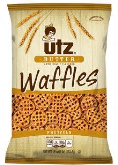 Utz Butter Waffles Pretzels
