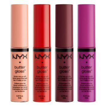 NYX Cosmetics Butter Gloss Collection