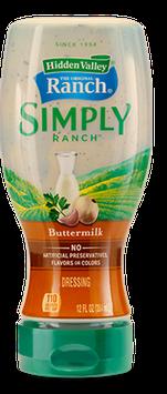 Hidden Valley Simply Ranch Buttermillk
