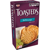Keebler Toasteds Buttercrisp Crackers