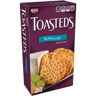 Keebler Toasteds Buttercrisp Crackers