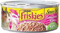 Friskies® Senior Diet Classic Pate Salmon Dinner in Sauce Cat Food