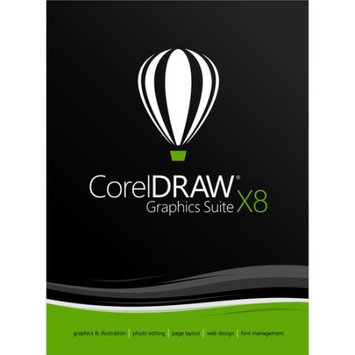 Corel ESDCDGSX8AMUG CorelDRAW Graphics Suite X8 Upgrade (Email Delivery)