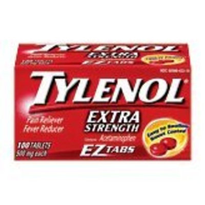 Tylenol Extra Strength EZ Tabs, 100 Count