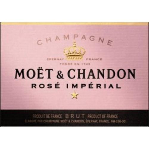 Moet & Chandon Moet Chandon Brut Rose NV 6 L Imperial