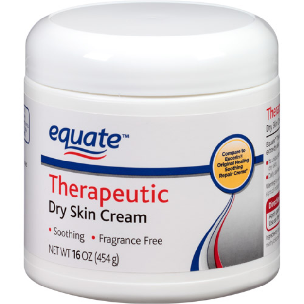Equate Therapeutic Dry Skin Cream, 16 oz