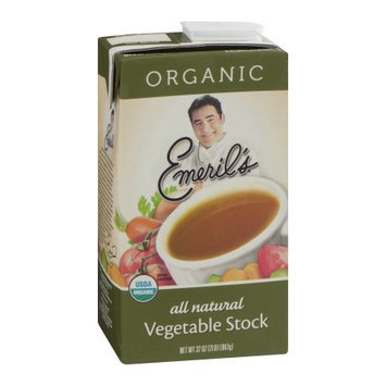 Emeril's Stock, Vegetable, Organic, 32 FL OZ (Pack of 6)