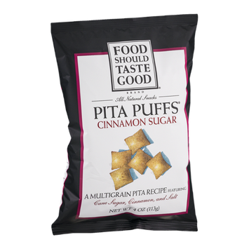 Food Should Taste Good Pita Puffs Cinnamon Sugar